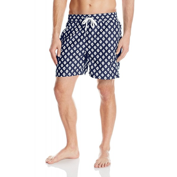 345746dee6ba Men's Capri Swim Trunk - Navy - C111T0Y7VNN