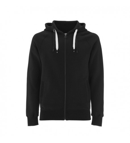 Black Hoodie Men Zipper Sweatshirt