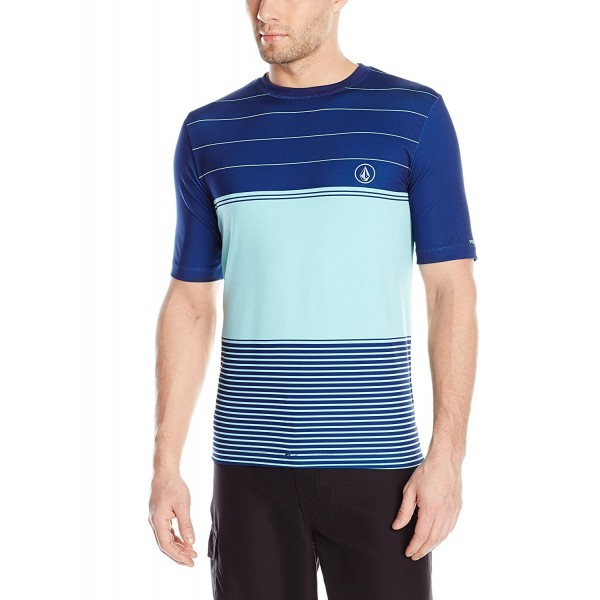 Volcom Stripes Sleeve Rashguard Turquoise