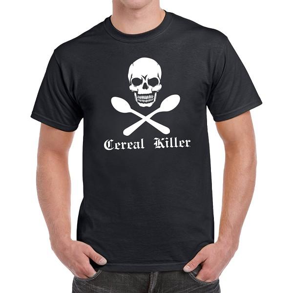 tees geek Cereal Novelty T Shirt