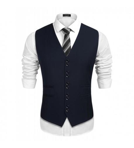 COOFANDY Business Formal Wedding Waistcoat