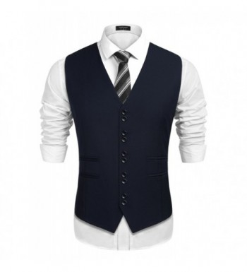 COOFANDY Business Formal Wedding Waistcoat