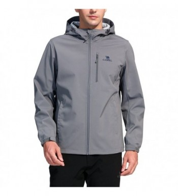 Camel Outdoor Softshell Jackets Windproof