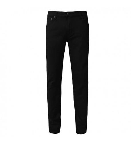 NE PEOPLE Casual Skinny Pants BLACK 38X32