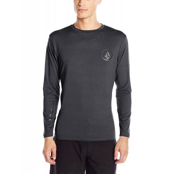 Volcom Distortion Sleeve Rashguard Stealth