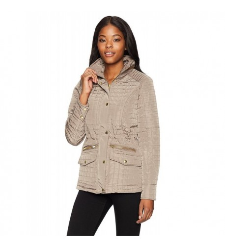Jason Maxwell Womens Outerwear Quileted