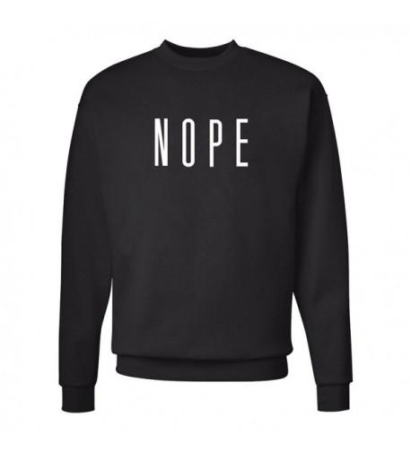 Unisex Womens Crewneck Sweatshirt Pullover