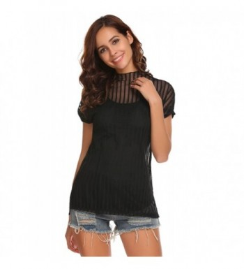 Zeagoo Womens Casual Through T Shirt