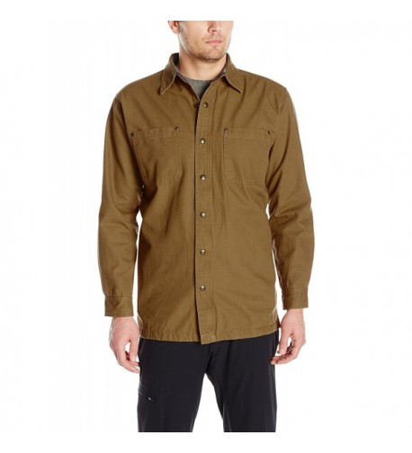 Backpacker Canvas Flannel Lined Jacket