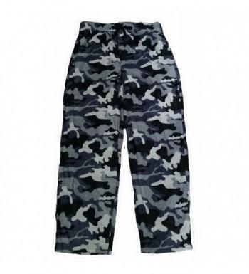Camouflage Fleece Graphic Sleep Lounge