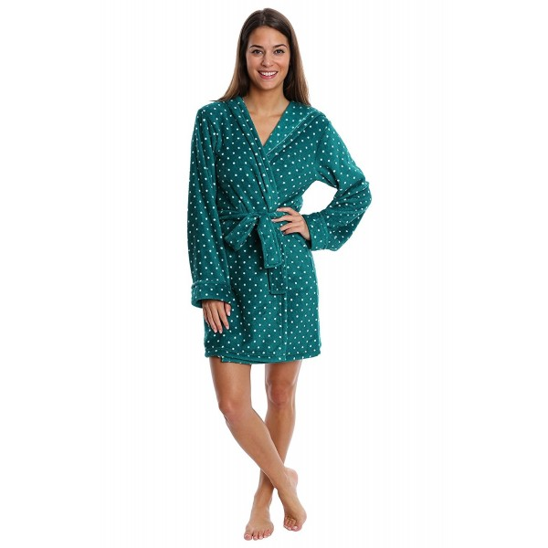 Womens Sleepwear Printed Loungewear - Evergreen - CC186EINERC 3b3065953