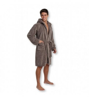 Pembrook Mens Robe Hood Bathrobe
