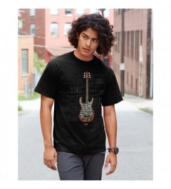 Amazing Guitar T Shirt Large Black