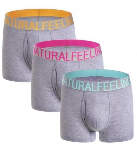 Boxer Briefs Cotton Underwear 3oxer