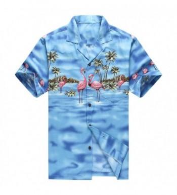 Hawaii Hawaiian Shirt Aloha Flamingos
