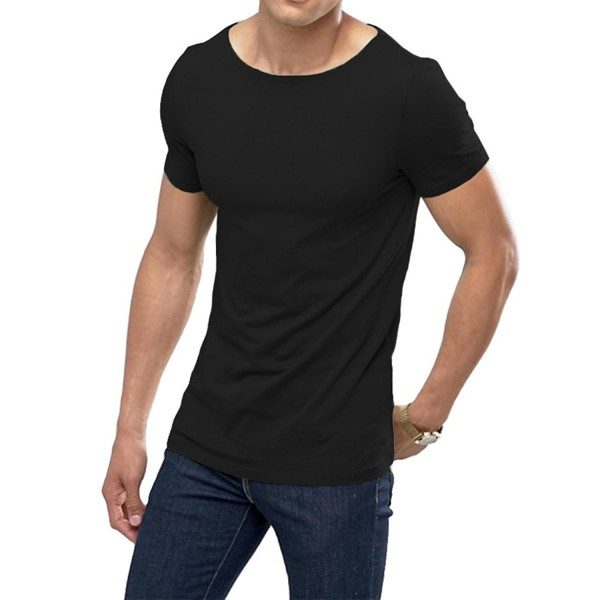OA Muscle T Shirt Stretch Black