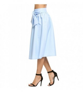 759597b01 Zeagoo Womens Waisted Skater Pleated; Women's Skirts for Sale; Cheap Real Women's  Skirts On ...