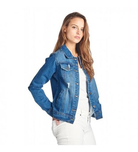 ICONICC Womens Jacket JK4001 MDWASH