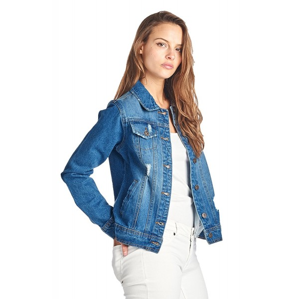 ICONICC Womens Jacket JK4001 MDWASH