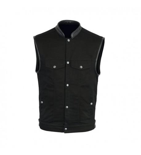 Mara Leather Basic Denim Cotton