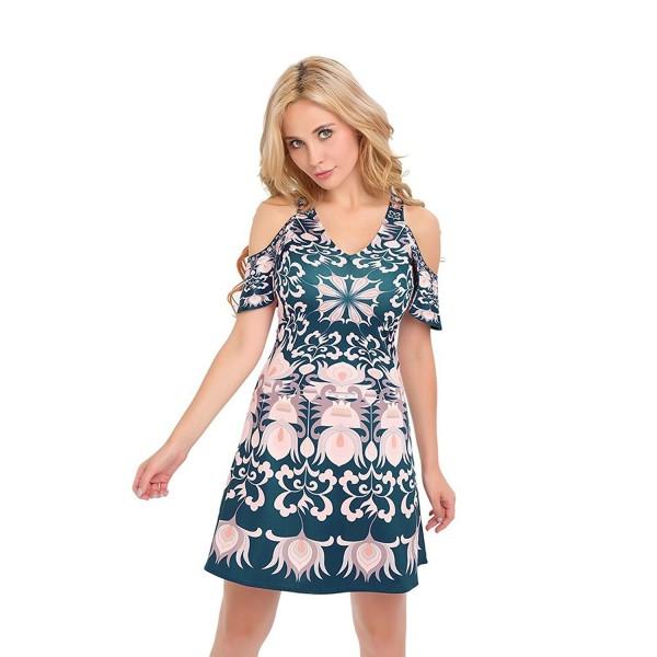 Floral Dresses Yagoor Womens Shoulder