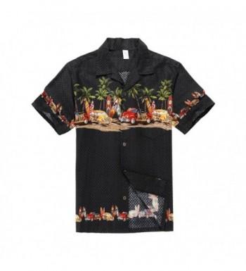 Palm Wave Hawaiian Shirt Vintage
