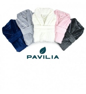 0aea3ff6a9 Available. PAVILIA Premium Fleece Luxurious Bathrobe  Designer Women s Robes  Clearance Sale ...