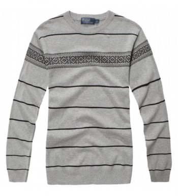 Fanhang Casual Cotton Pullover Sweater