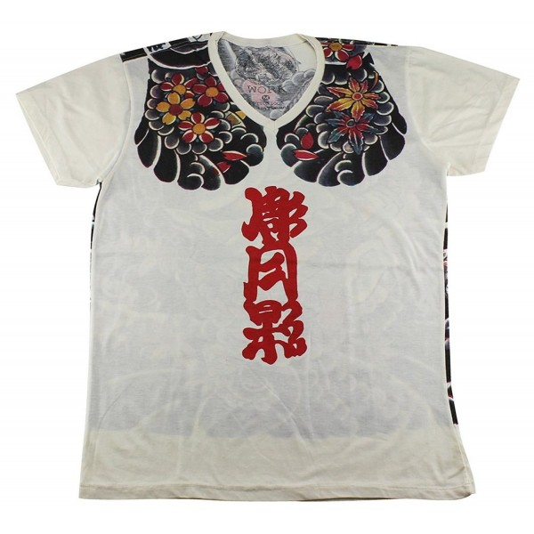 Irezumi samurai bushido T Shirt WK105