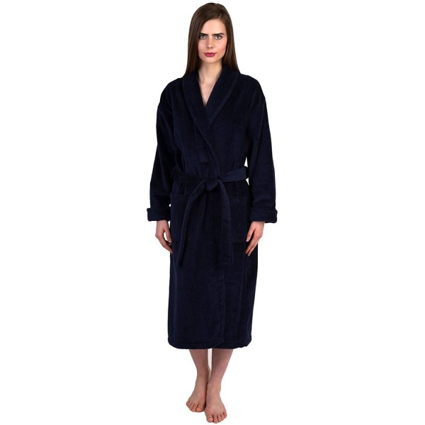 Women s Robe Turkish Cotton Terry Velour Bathrobe Made in Turkey ... 940ef0de73