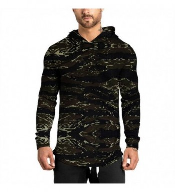 JXEWW Hipster Curved Hoodies Sleeves