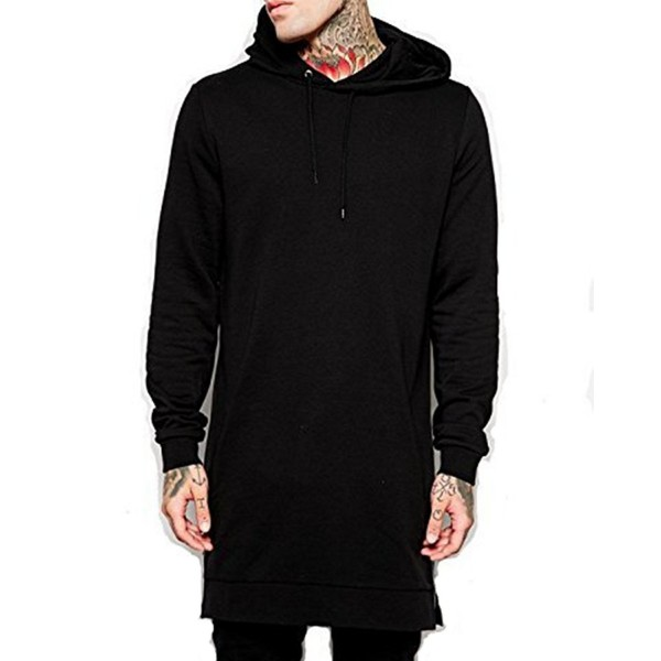 LIWEIKE Hipster Longline Pullover Sweatshirt