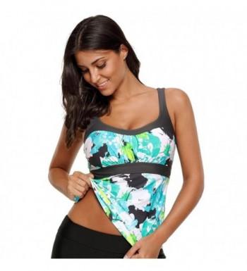XAKALAKA Tankini Swimwear Printed Bathing