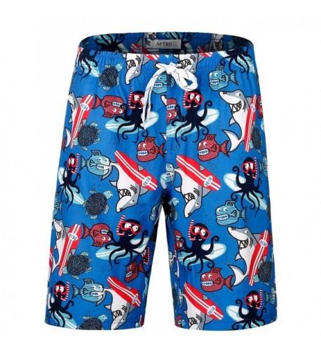 APTRO Trunks Pockets Hawaiian Shorts