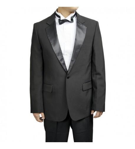 Black Collar Tuxedo Broadway Tuxmakers