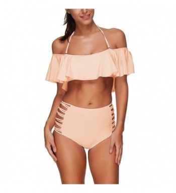 Memory baby Shoulder Flounce Swimsuits