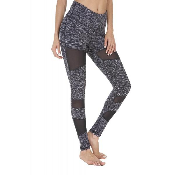 f5a2c8a19d02f ... Yoga High Waist Stretchy Skinny Tights Gym Pants - Black Space Dye -  CJ188UQRK29. Queenie Ke Women Leggings Running