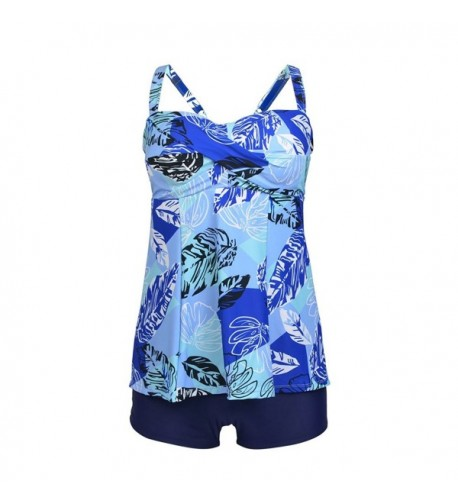 Happybai Printed Tankini Swimsuit Bathing