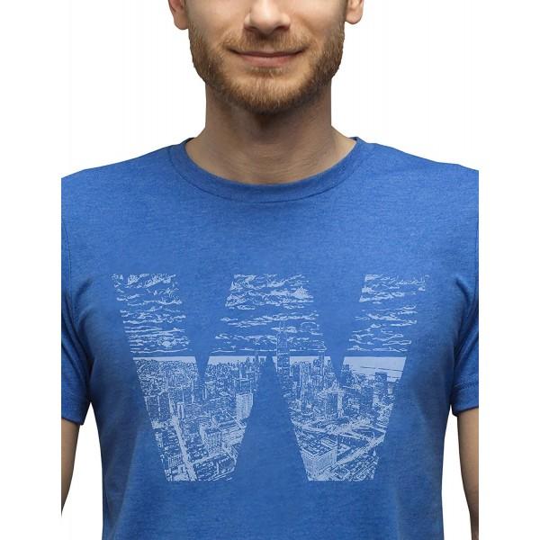 SCOBAR Hand Drawn Skyline T Shirt XL
