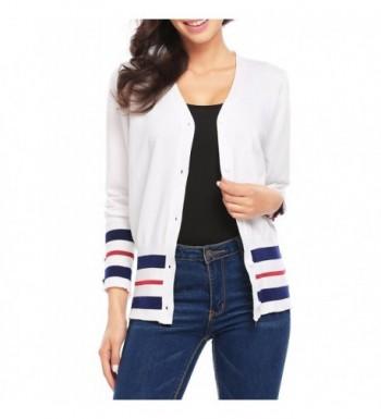 ODlover Womens Classic Cardigan Sweater