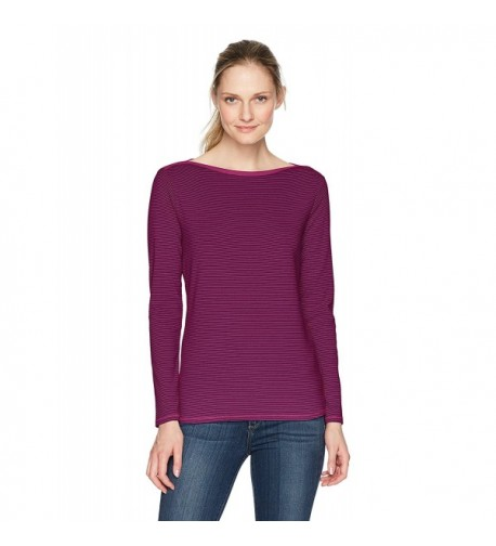 Royal Robbins Striped Boatneck T Shirt