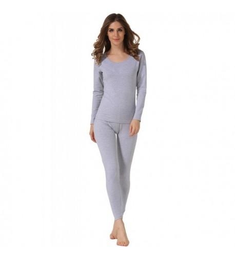 Hieasy Womens Stretch Thermal Underwear