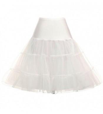 YUNSHANG Vintage Crinoline Rockabilly underskirts