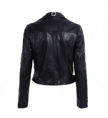 Discount Women's Leather Coats Online Sale