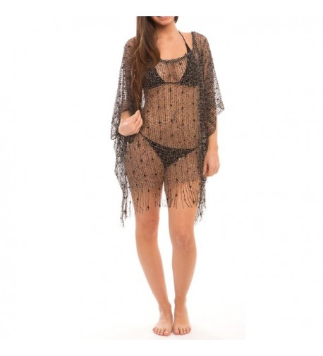 6b889d5da354d Short Plus Size Black Swimsuit Sarong Cover Up with Built in Ties ...