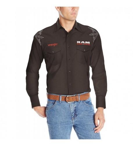 Wrangler Western Sleeve Woven XX Large
