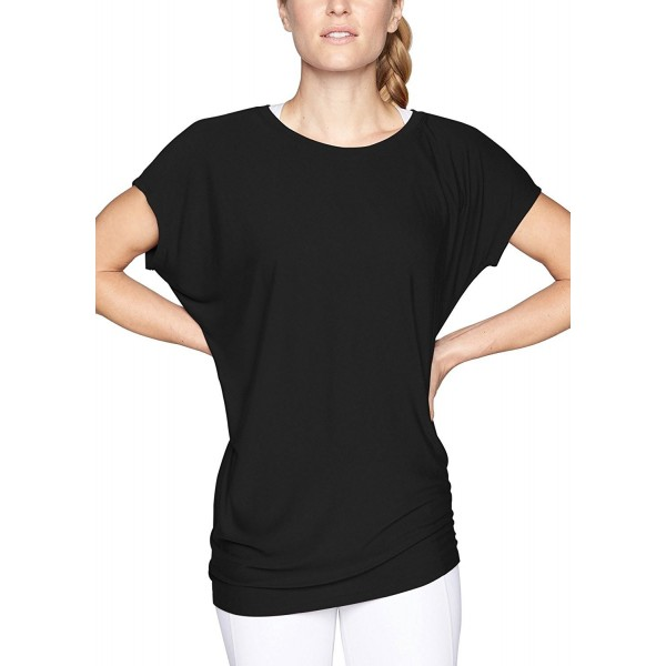 baf1ade75 Women s Batwing Sleeve Top Casual Short Sleeve Round Neck Loose ...