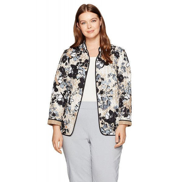 Alfred Dunner Womens Petite Jacket