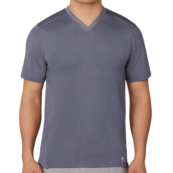 JUXU Sport Performance V Neck Grey Slate