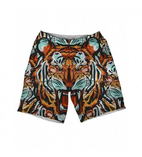 INTO AM Fractal Tiger Shorts